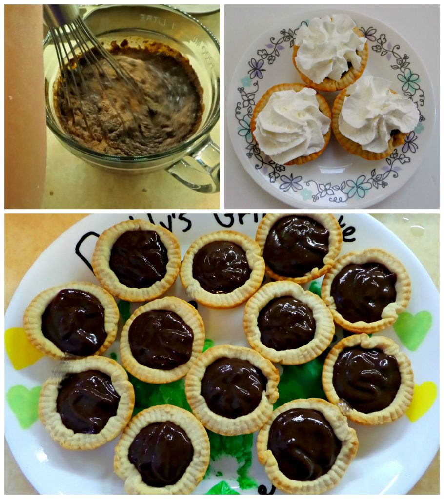 Kids in the Kitchen: Simple Chocolate Tarts