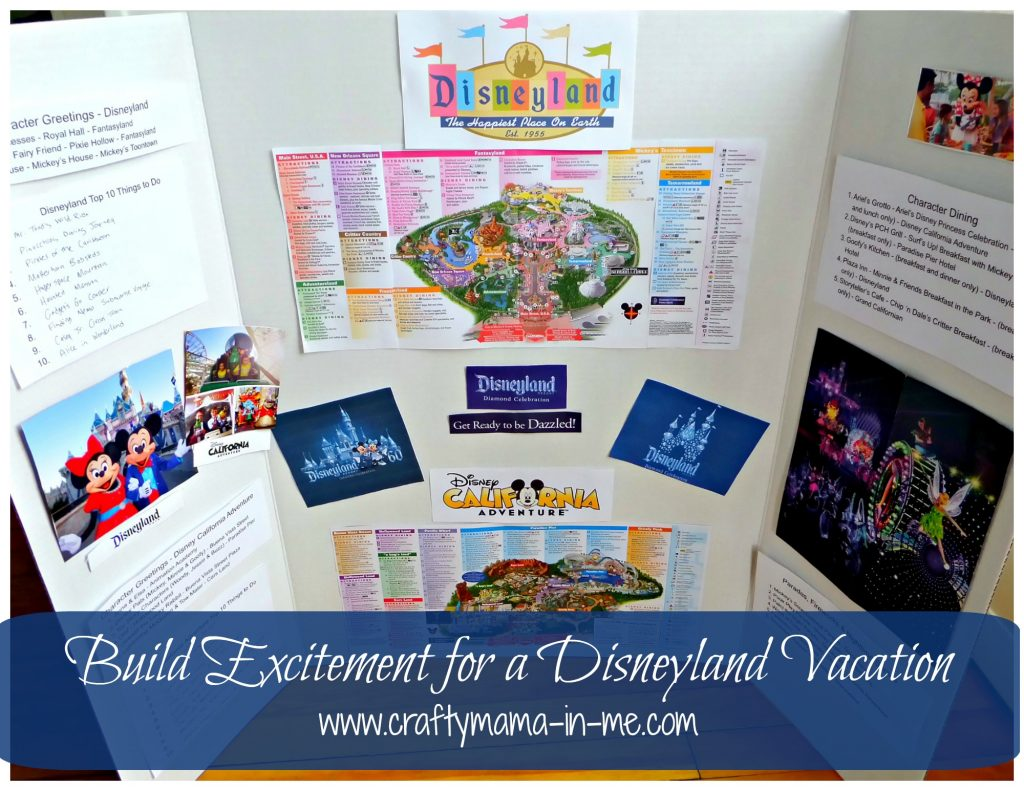 Build Excitement for a Disneyland Vacation