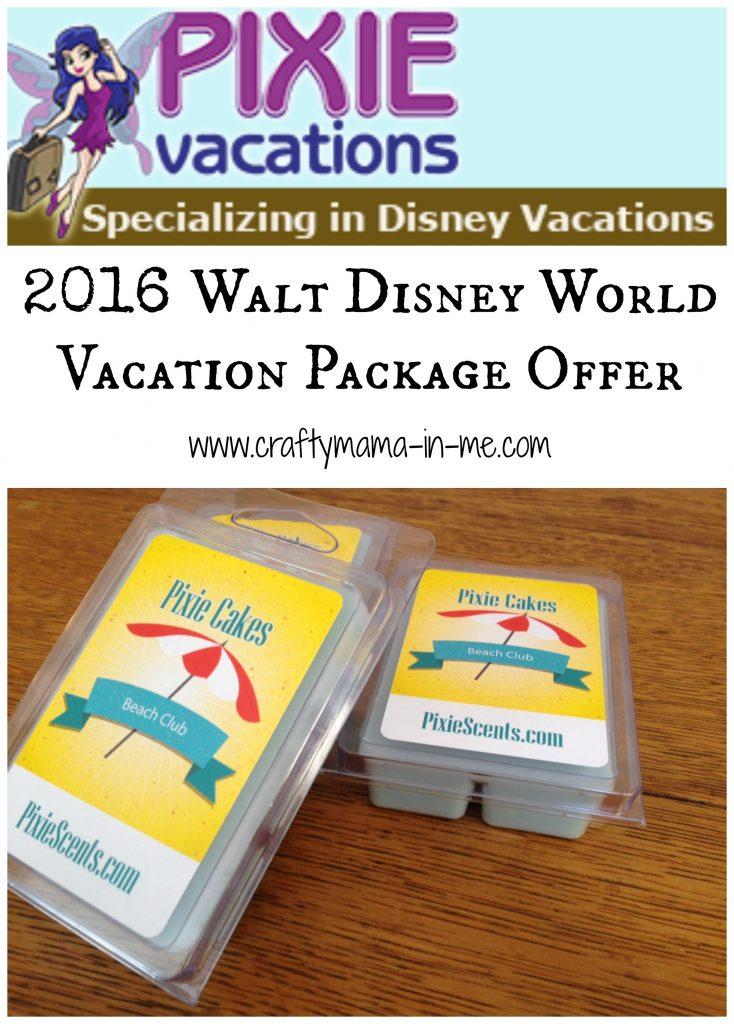 2016 Walt Disney World Vacation Package Offer