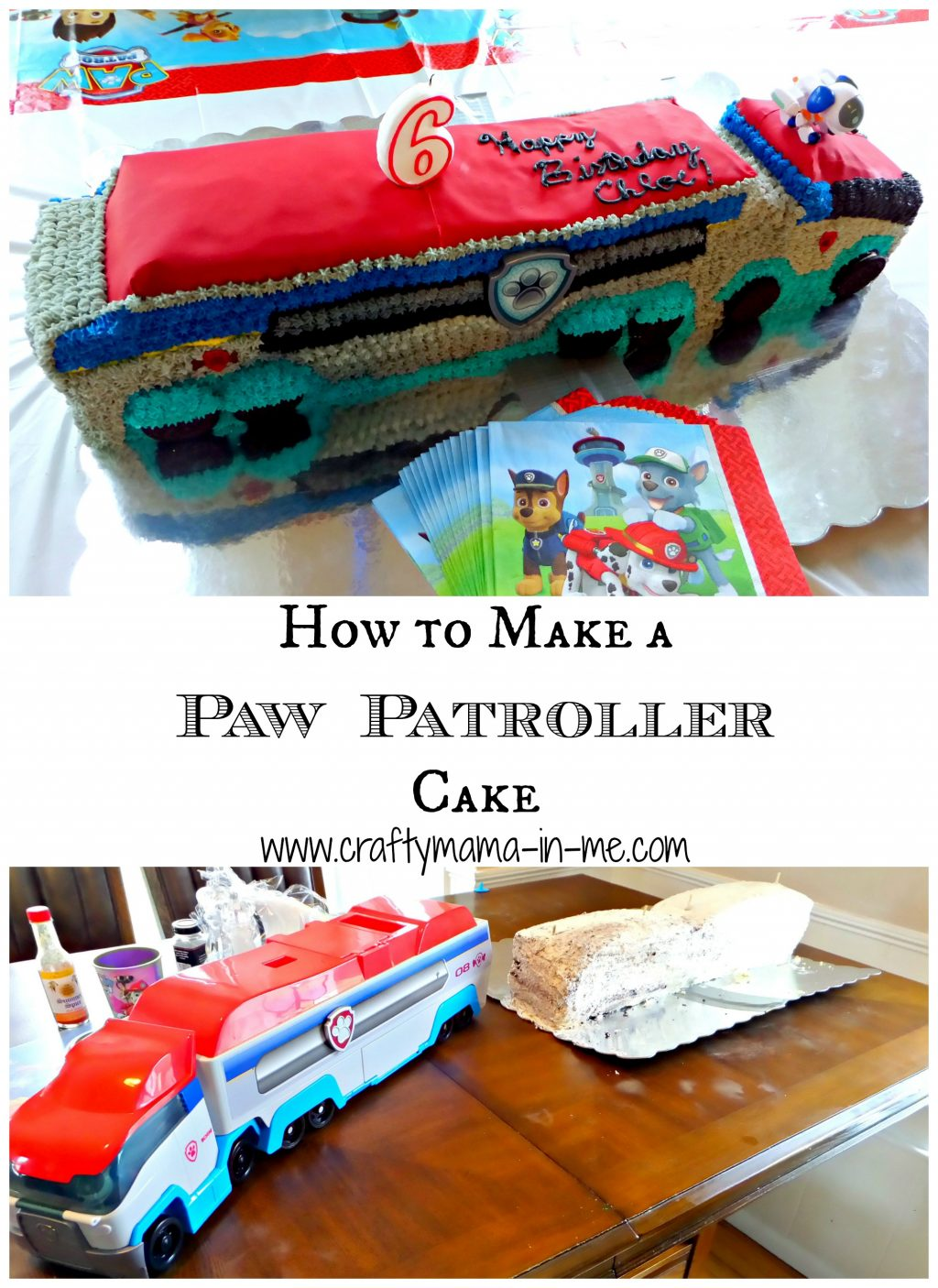 how to make a paw patrol cake how to make a paw patroller cake crafty in me 4965