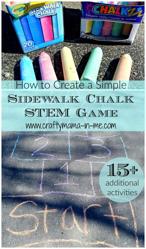 How to Create a Simple Sidewalk Chalk STEM Game