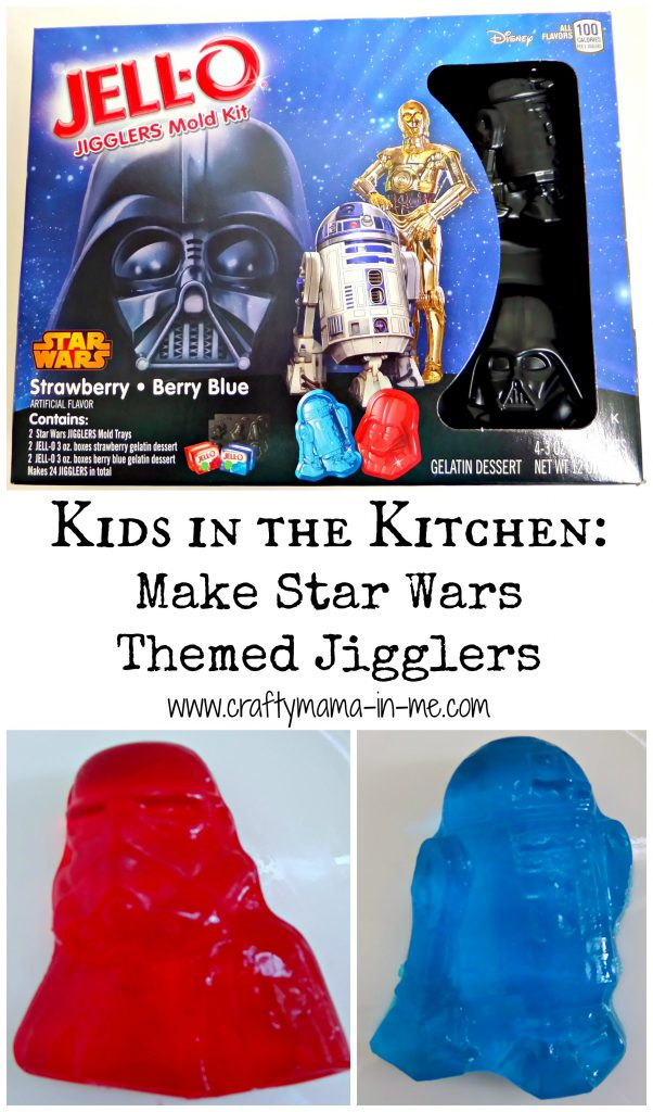 Kids in the Kitchen: Make Star Wars Themed Jigglers
