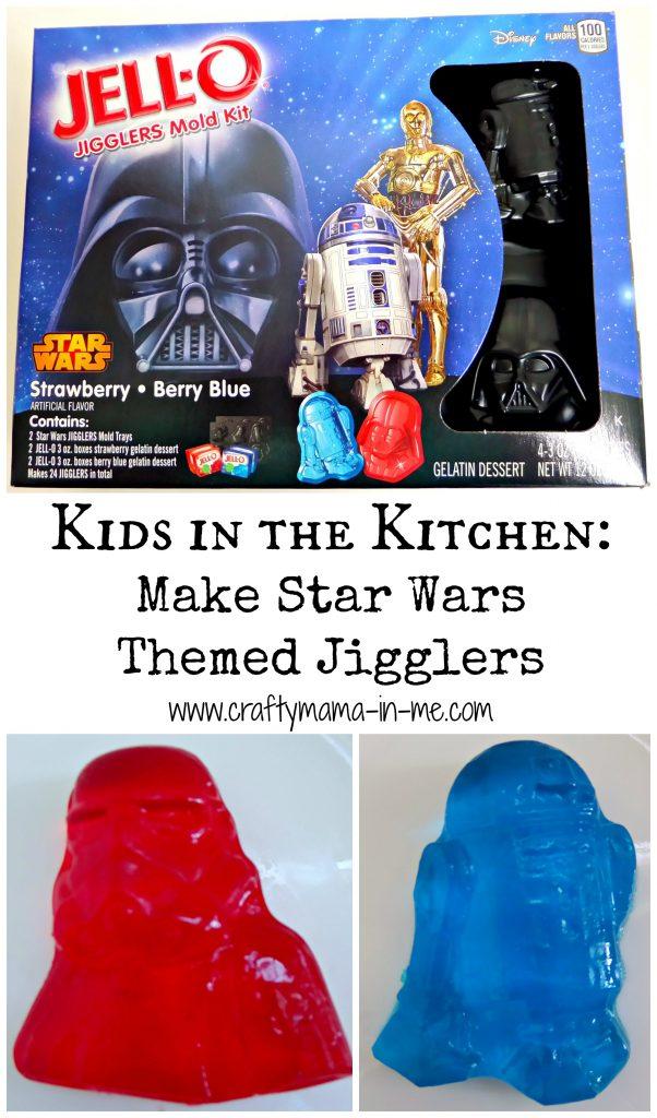 Kids in the Kitchen: Make Star Wars Themed Jigglers
