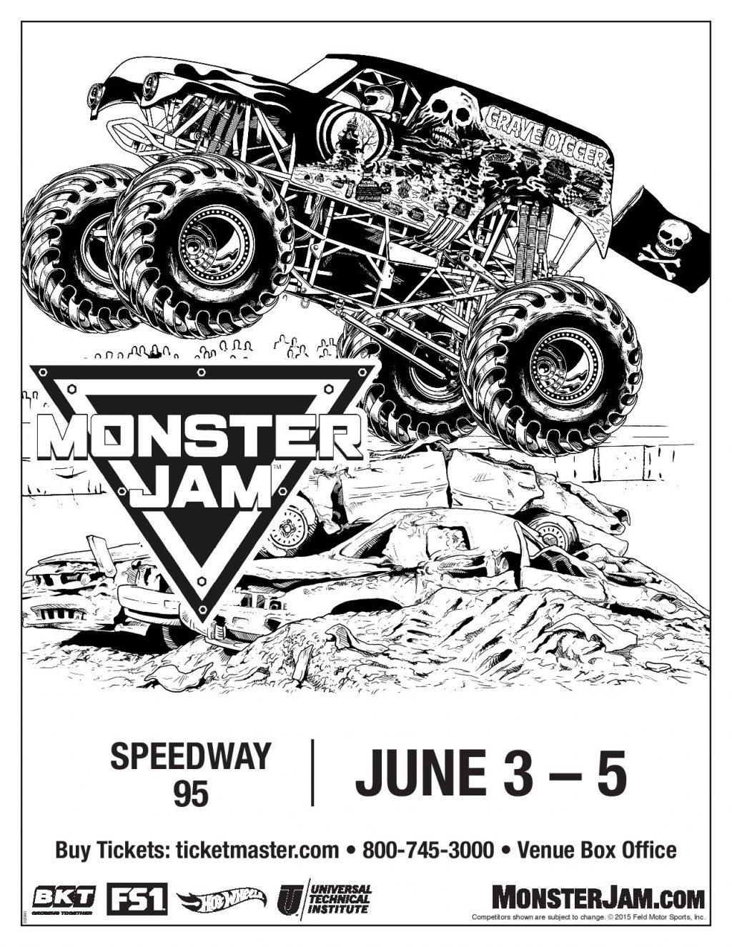 Monster Jam Comes To Bangor ME