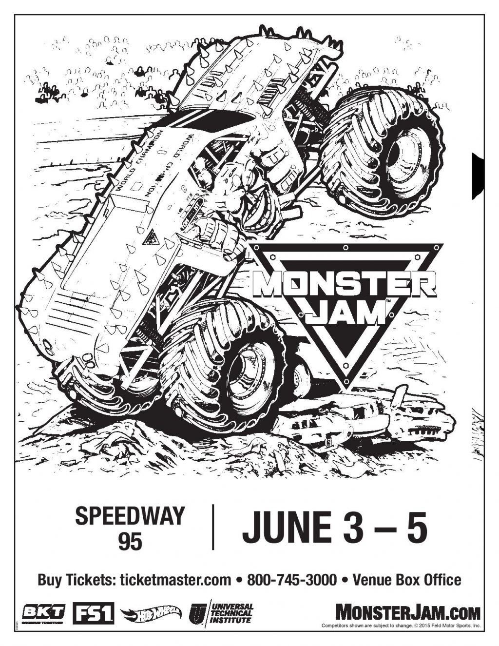 Monster Jam comes to Bangor ME Ticket Giveaway Crafty Mama in ME