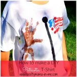 How to make a DIY Patriotic T-shirt