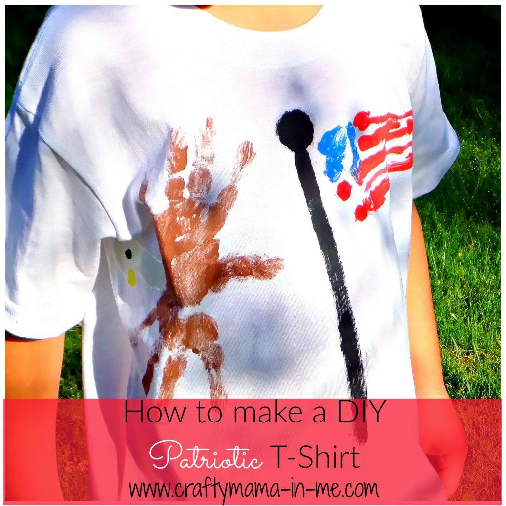 How to make a DIY Patriotic T-shirt