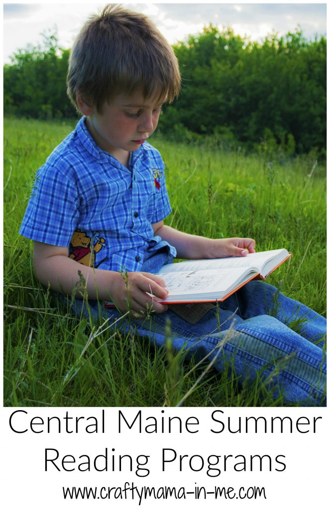 Central Maine Summer Reading Programs