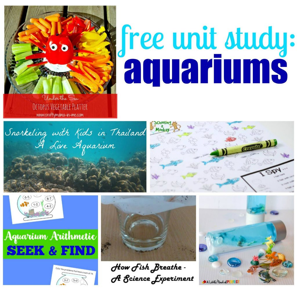 Free Unit Study - Aquariums