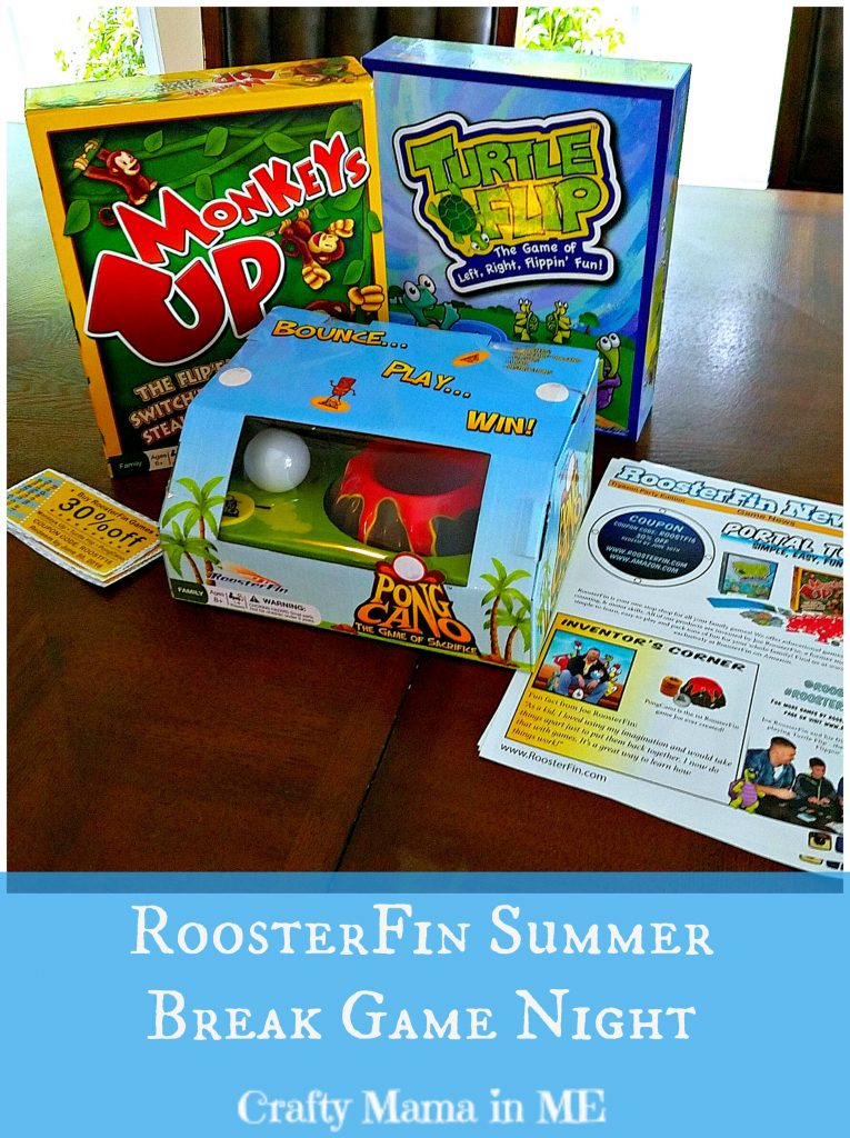 RoosterFin Summer Break Game Night