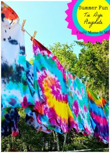 Summer Fun Tie Dye Playdate