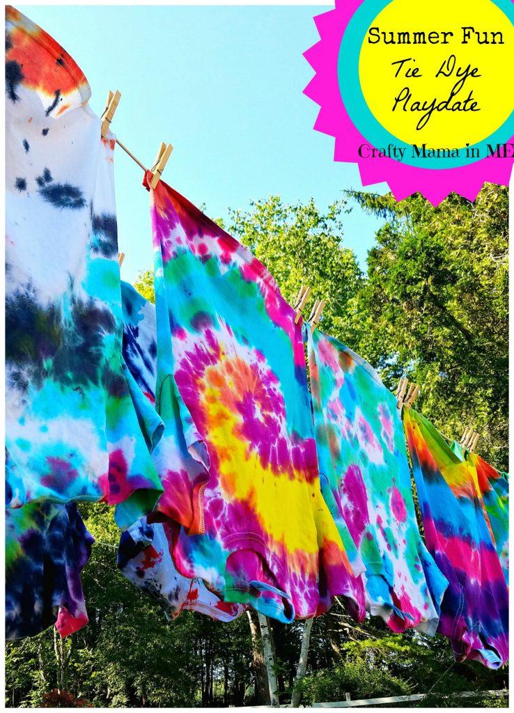 Summer Fun Tie Dye Playdate