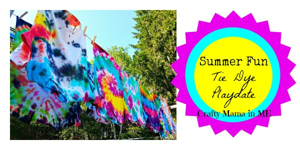 How to Host a Summer Fun Tie Dye Playdate