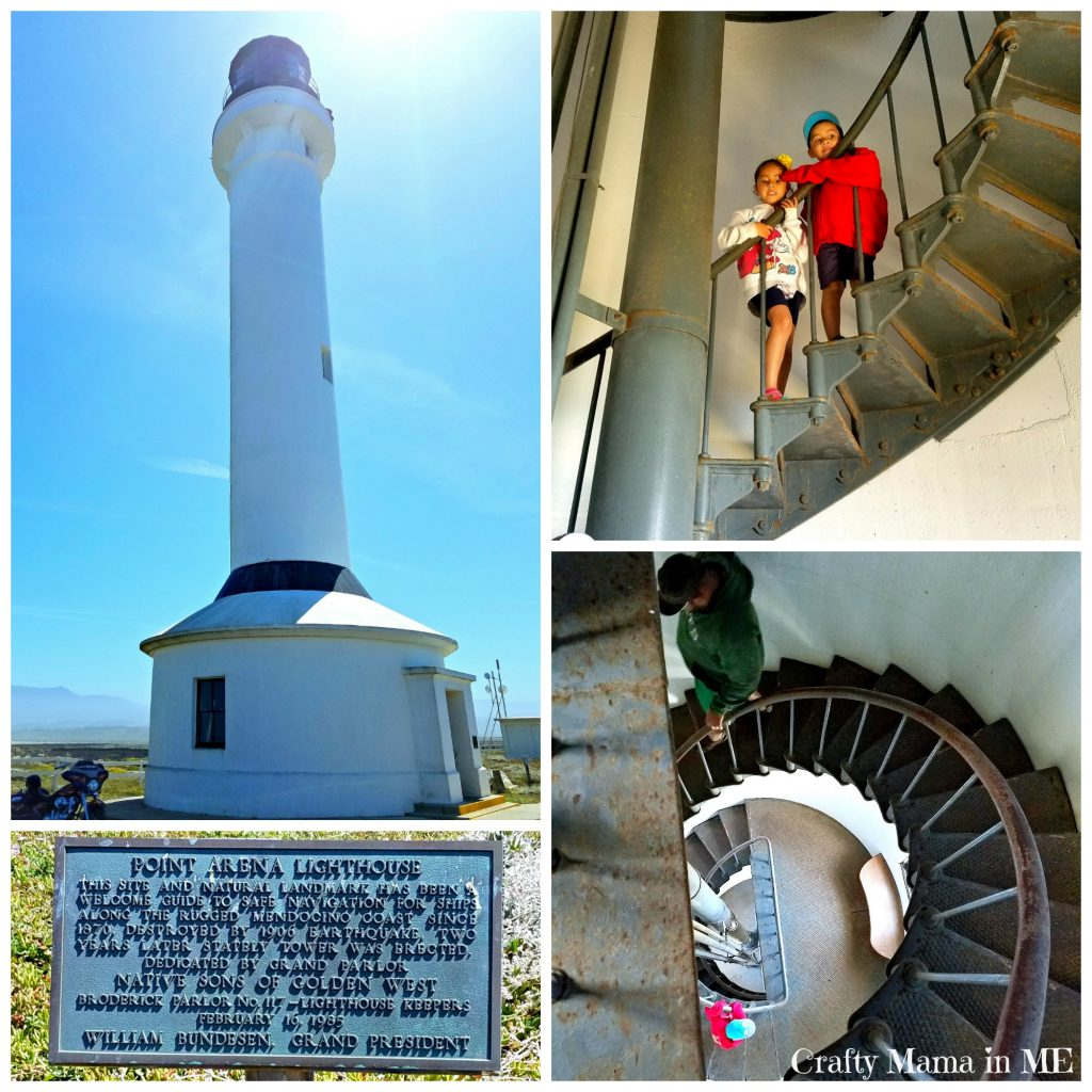 Visiting the Point Arena Lighthouse with Children