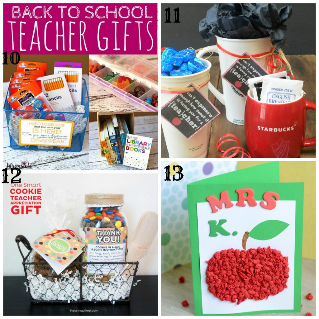 The Best Fun & Easy Back to School Teacher Gifts