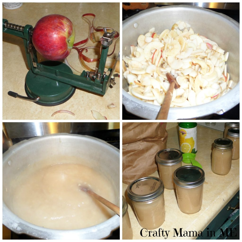 Fall Apples become Yummy Applesauce for the Year