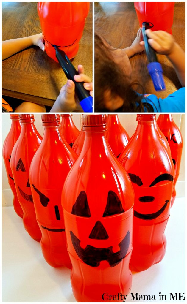 How to Make DIY Pumpkin Bowling Pins