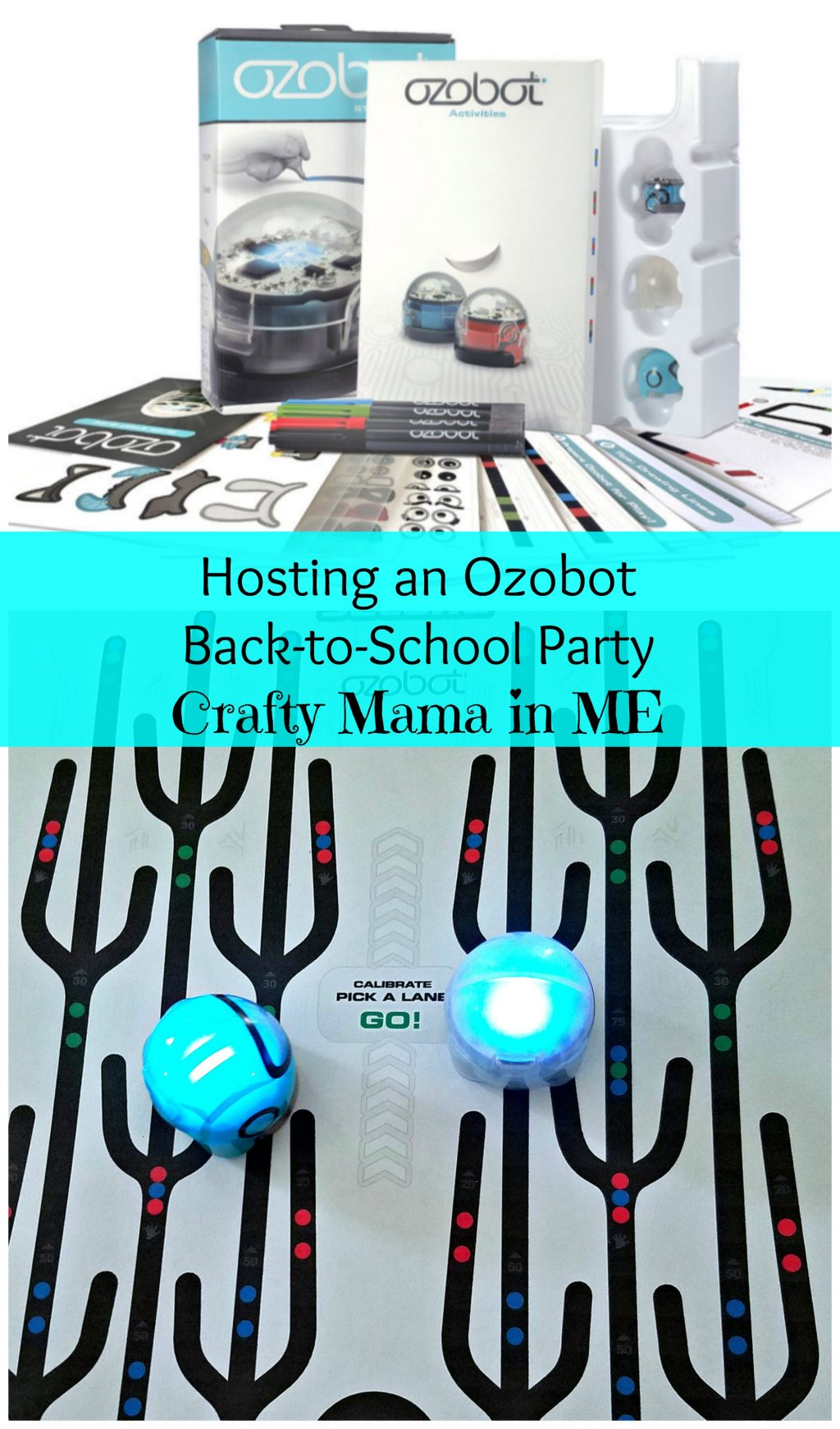 Hosting an Ozobot Back-to-School Party