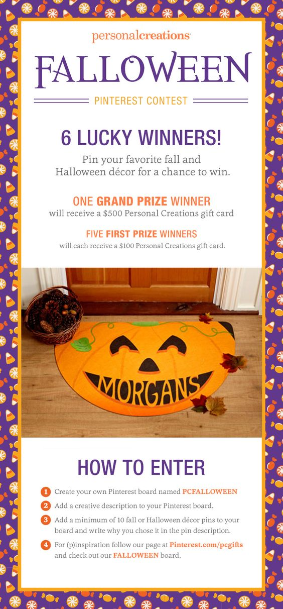 Enter a Fun Pinterest Falloween Contest