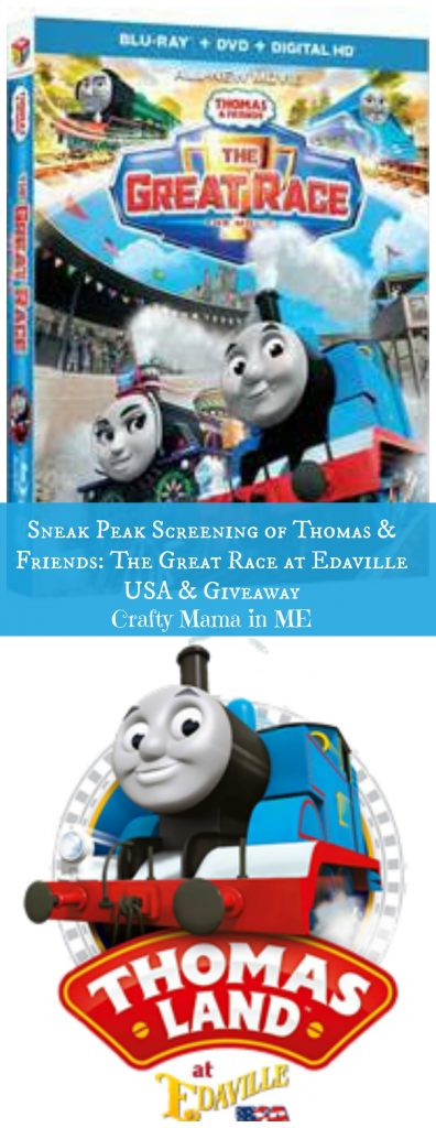 Sneak Peak Screening of Thomas & Friends: The Great Race at Edaville USA