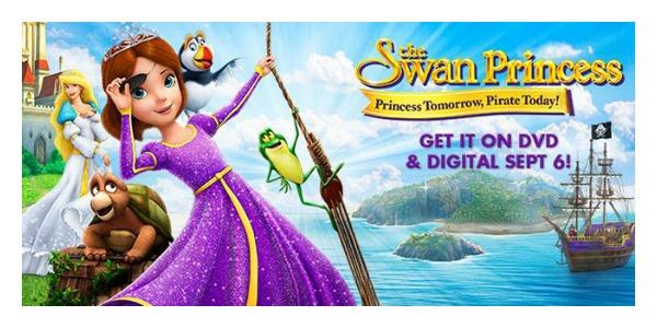 the swan princess princess tomorrow pirate today dvd giveaway