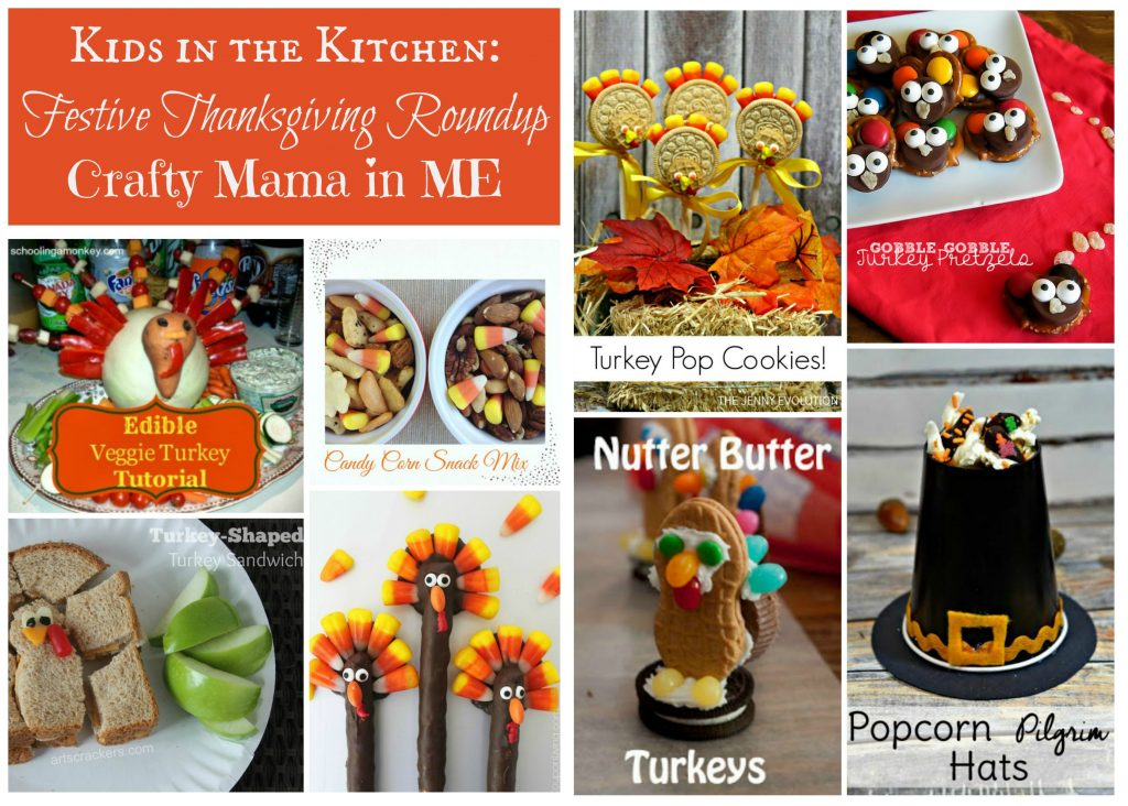 Kids in the Kitchen: Festive Thanksgiving Roundup