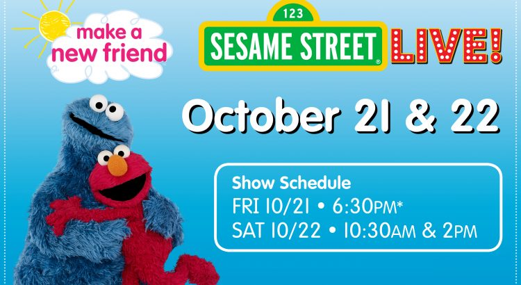 Enjoy Family Fun with Sesame Street Live + Giveaway