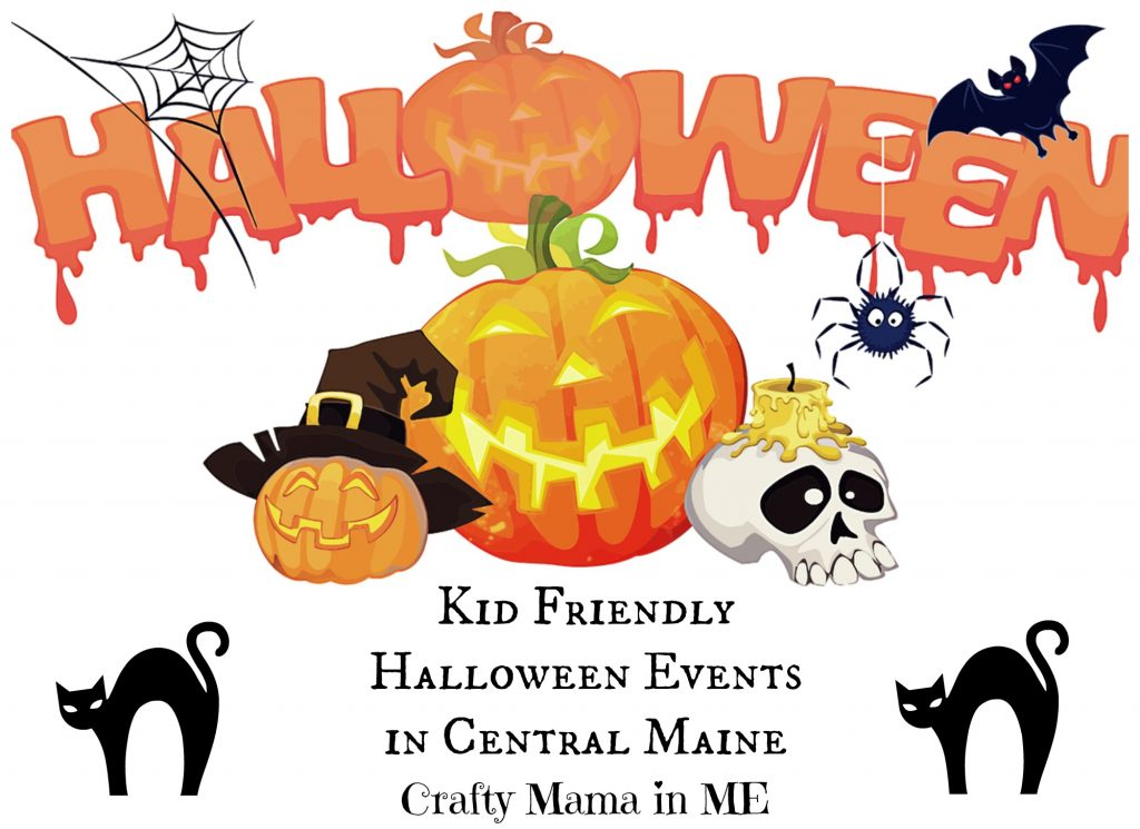 Kid Friendly Halloween Events in Central Maine 2016