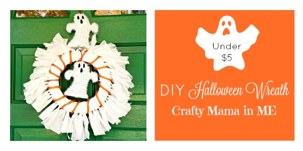 How to Make a Halloween Wreath for Under Five Dollars