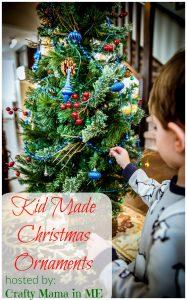 Kid Made Christmas Ornaments Blog Hop