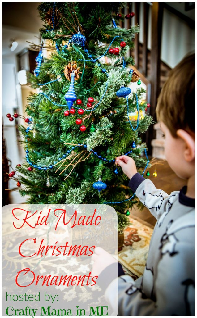 Kid Made Christmas Ornament Blog Hop
