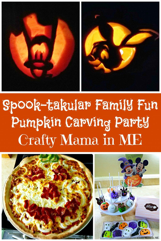 Spook-takular Family Fun Pumpkin Carving Party