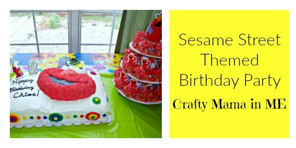Cute Sesame Street Themed Birthday Party