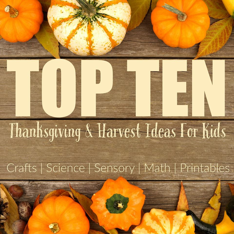 Top 10 Kids Projects to Give Thanks