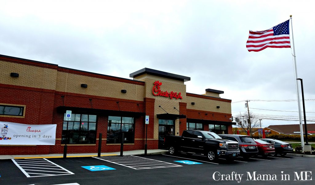 Chick-fil-A Bangor Grand Opening November 3rd