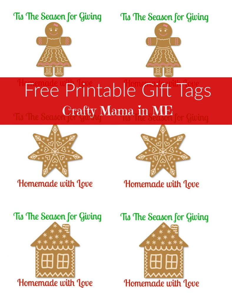 Festive Teacher Gifts for the Holidays {Free Printable Labels}