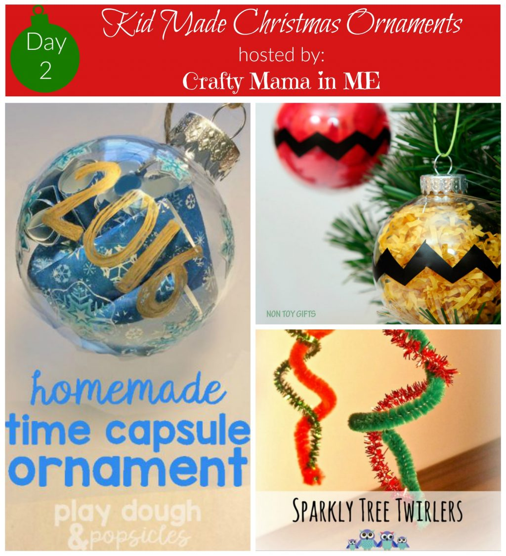 Day 2 - Kid Made Christmas Ornaments Blog Hop