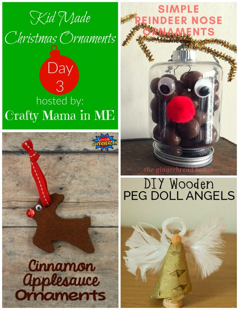 Day 3 - Kid Made Christmas Ornaments Blog Hop