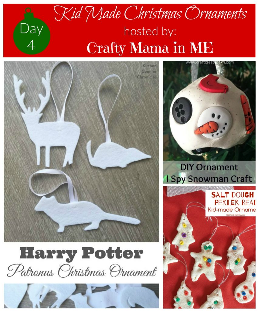 Day 4 - Kid Made Christmas Ornaments Blog Hop