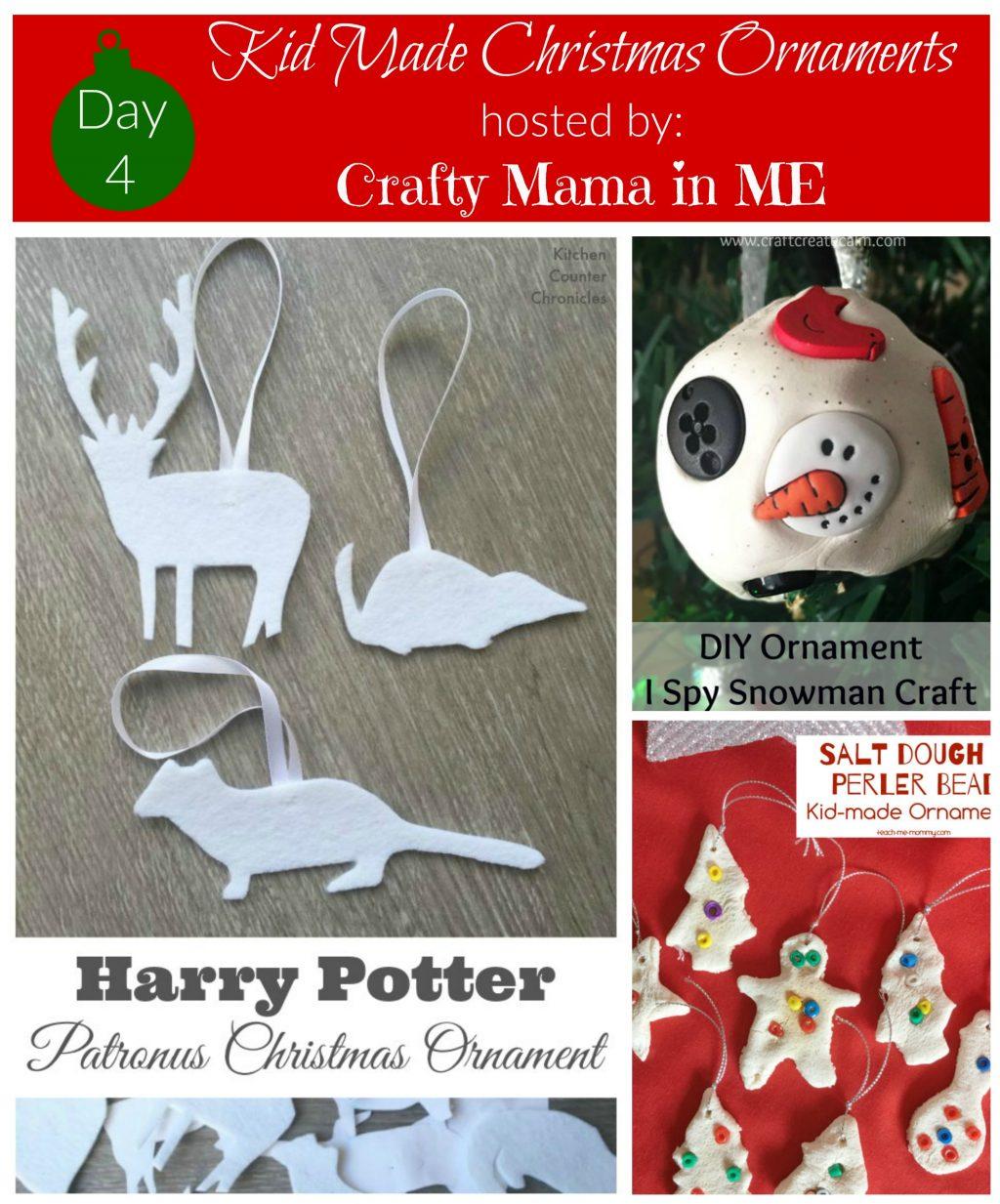 Day 4 - Kid Made Christmas Ornaments Blog Hop