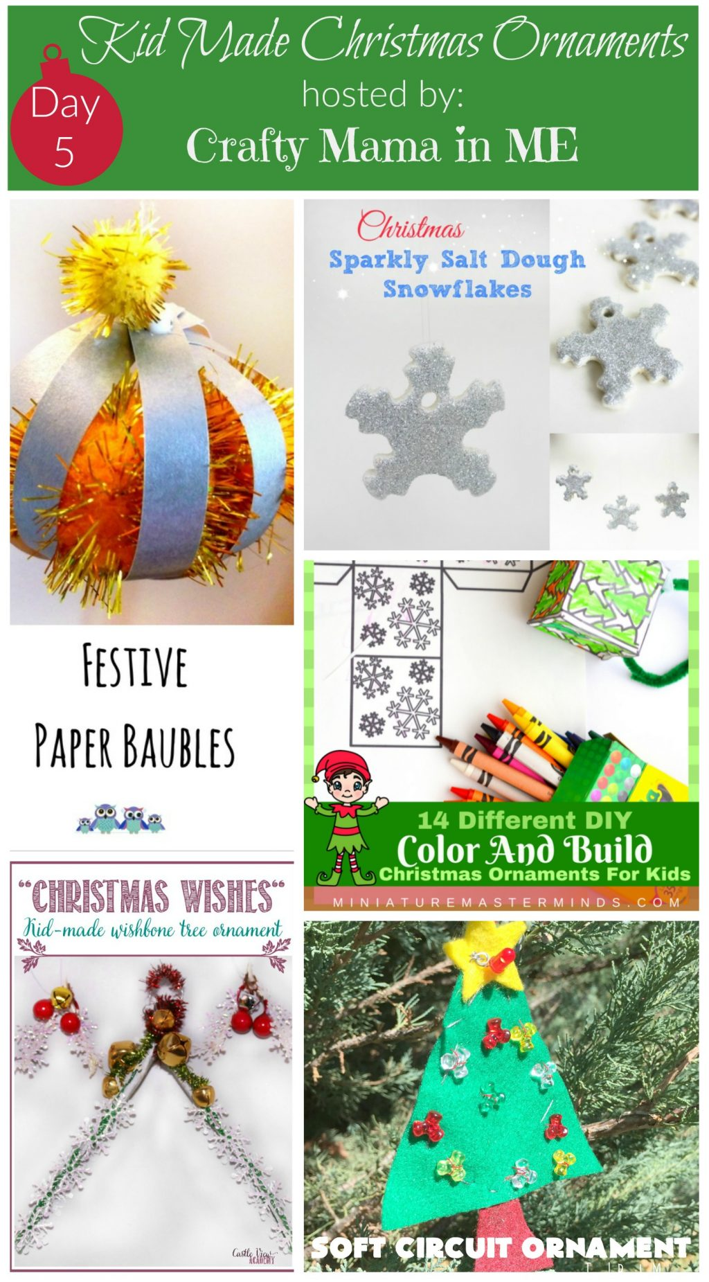 Day 5 - Kid Made Christmas Ornaments Blog Hop