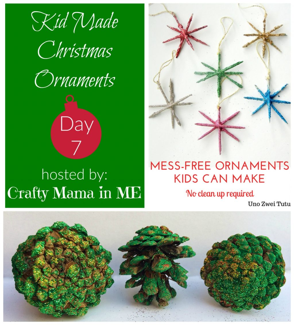 Day 7 - Kid Made Christmas Ornaments Blog Hop