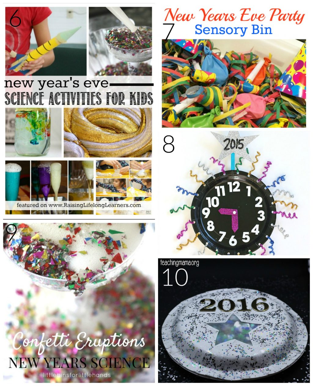 Fun Ideas to Ring in the New Year with Kids
