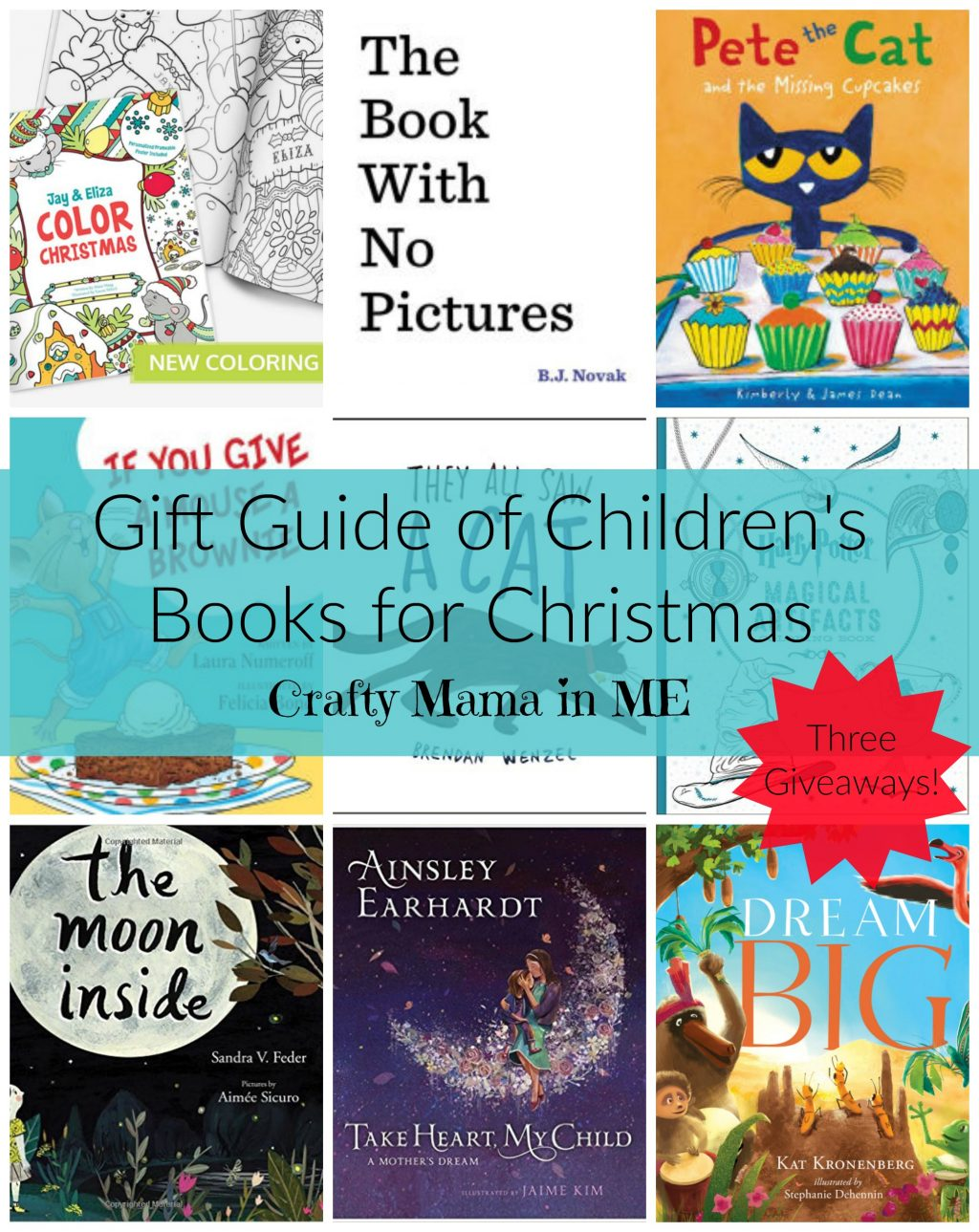 Gift Guide of Children's Books for Christmas