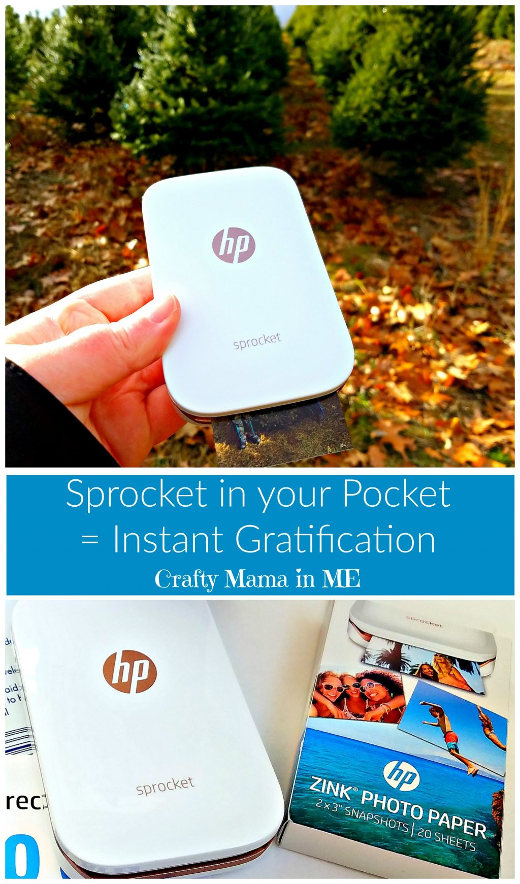 Sprocket in your Pocket = Instant Gratification