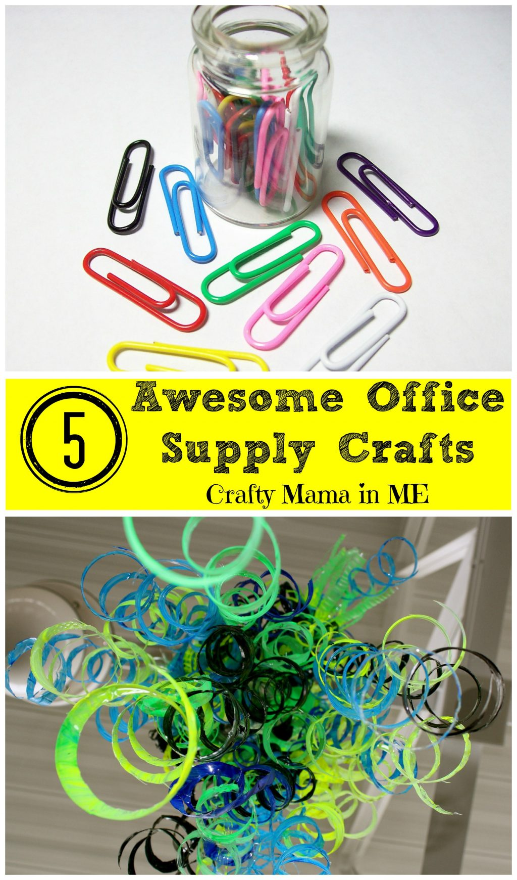 How to Make 5 Awesome Office Supply Crafts
