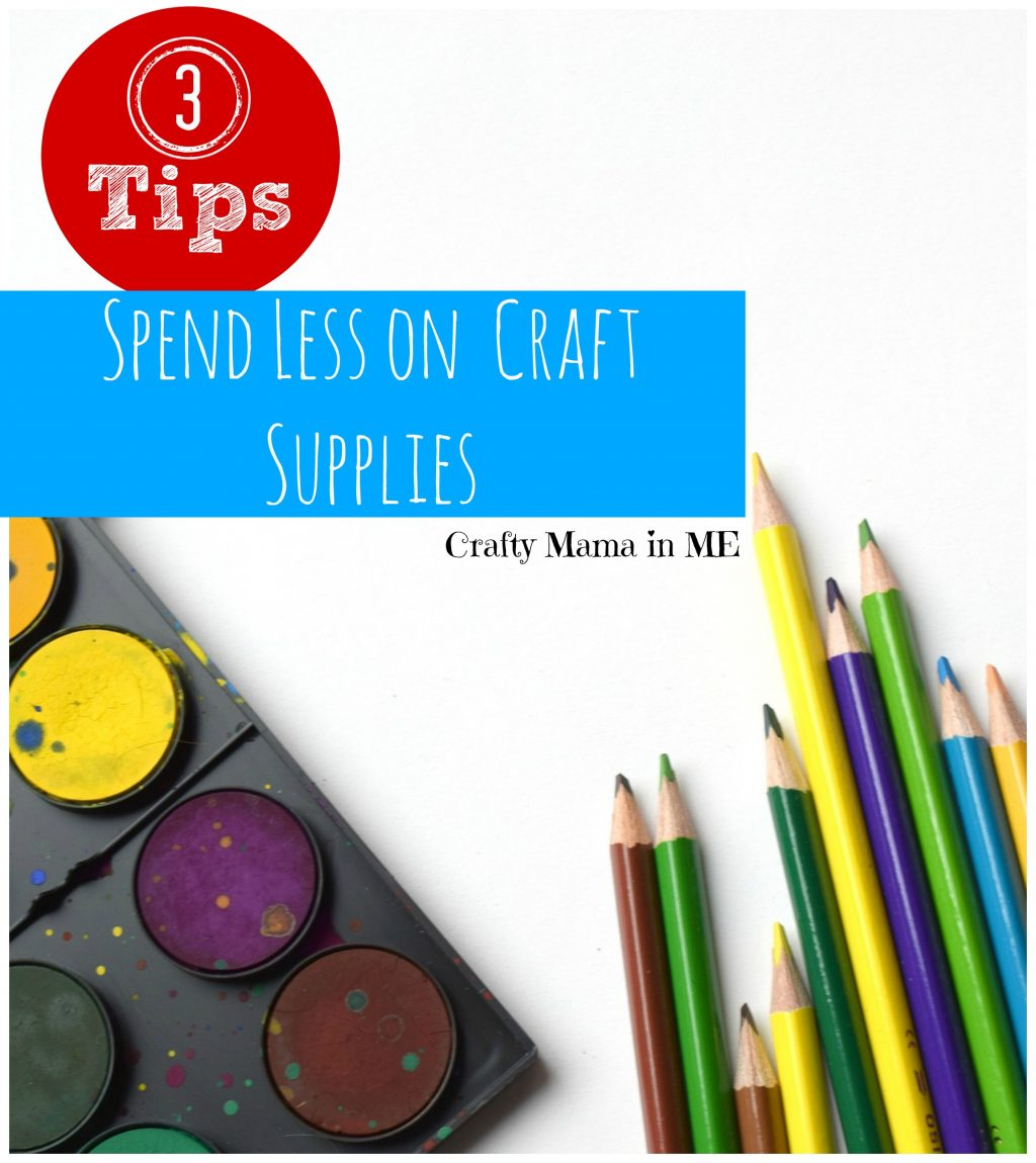 Coupons for Good: 3 Tips for Spending Less on Your Kids' Craft Supplies