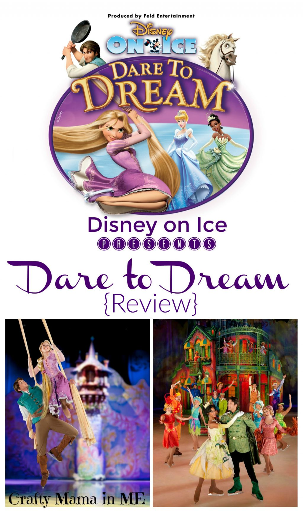 Disney on Ice - Dare to Dream Review