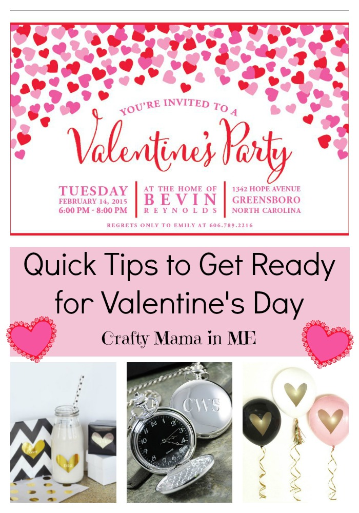 Quick Tips to Get Ready for Valentine's Day