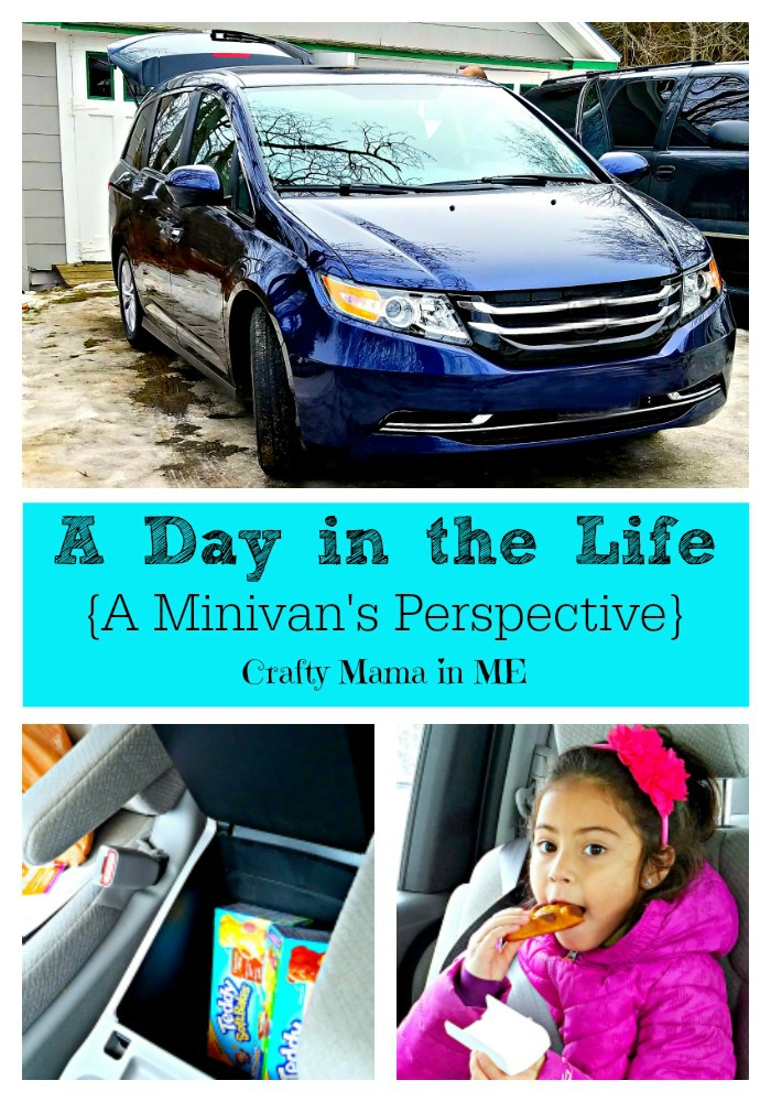 A Day in the Life {A Minivan's Perspective}
